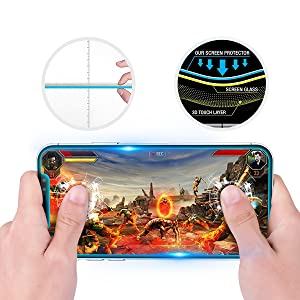 iPhone X XS Tempered Glass screen protector