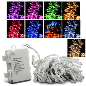 Autolizer Battery Operated LED Fairy Light String