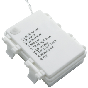 Autolizer Battery Powered Fairly LED Light String Control Box