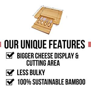 cheeseboard, cheese board, meat board