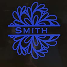 decal text name family