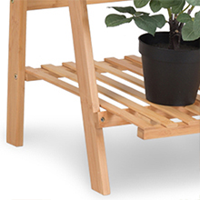 3-Tier Bamboo Hanging Plant Stand