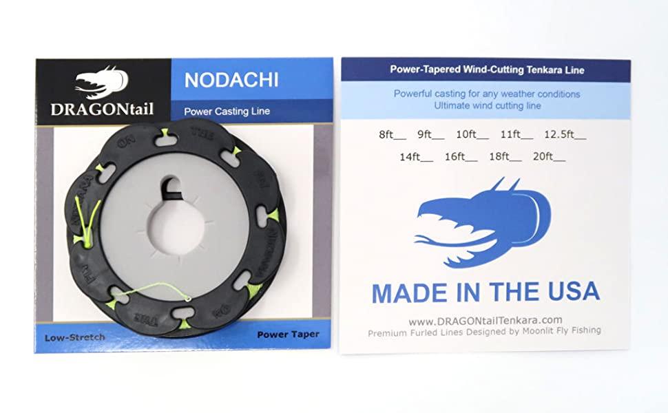 DRAGONtail Tenkara Nodachi Tenkara Line Made in the USA