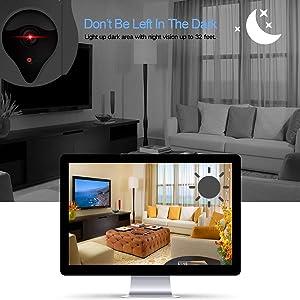 HD & IR Night Vision