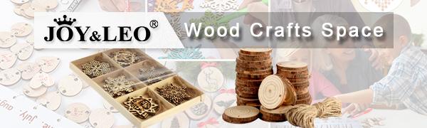 Joy&Leo Wood Crafts Space