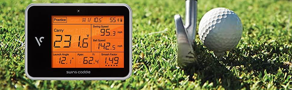 8809317251592 SC300BK golfing golfers trackers club angles speed analyze analyser metrics sensors