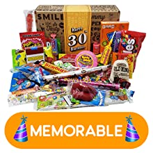 happy birthday candy gift assortment variety care package for man woman college student boy girl