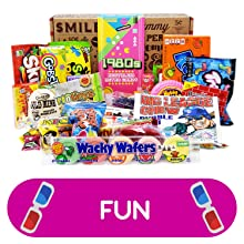 70s 80s 90s candy gift assortment variety care package for man woman college student boy girl