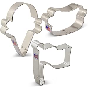 Summer Party Cookie Cutter Set