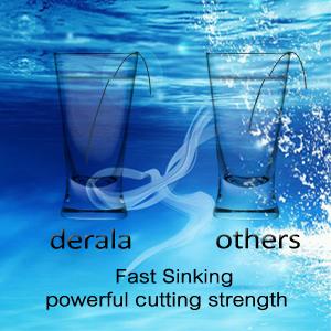 Faster Sinking Fishing Line
