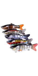 Multi Jointed Fishing Lure