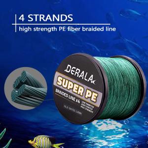 4 strand braided fish line