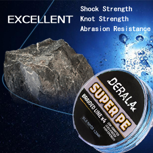 Ultimate Abrasion Resistance Briaded Fishing Line