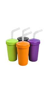 Straw cups; plastic straw cup; cups with straws; children's straw cup; kid's straw cup