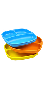 Divided plates; Children's divided plates; toddler's divided plates; kid's divided plates; plastic