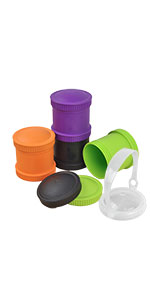 Snack stacks; snack storage; lunch storage; snack container; stackable snack container; stackable
