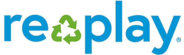 Replay; Re-play; replay, re-play; Replay recycled; re-play recycled