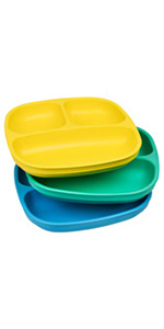 Divided plates; Children's divided plates; toddler's divided plates; kid's divided plates;