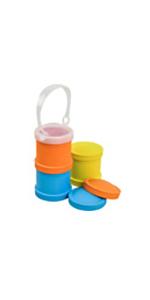 Snack stacks; snack storage; lunch storage; snack container; stackable snack container; stackable