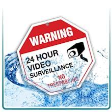 waterproof rain water weatherproof signs