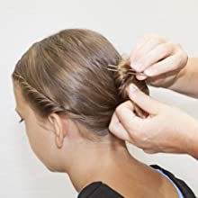 u shaped hair pins for buns