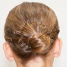 close up hairpin