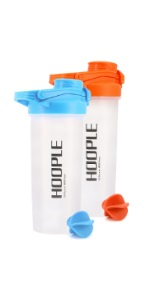 protein powder shaker bottle blender mix shakes smoothies 2 pack small sale gym cup men women