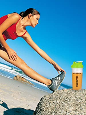 protein shaker bottle small 20 oz blender cup whisk ball mixing gym powder classic shakes smoothies