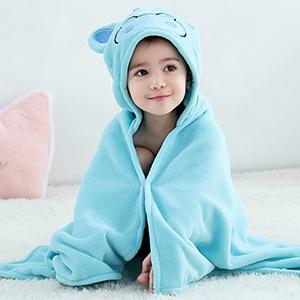 hippo baby bath towels