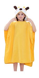 giraffe poncho towels