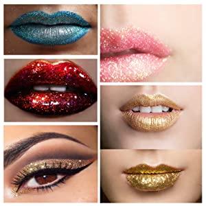 lipstick, metallic, glitter, shimmer, holographic, iridescent, moisturizing, creamy, matte, full