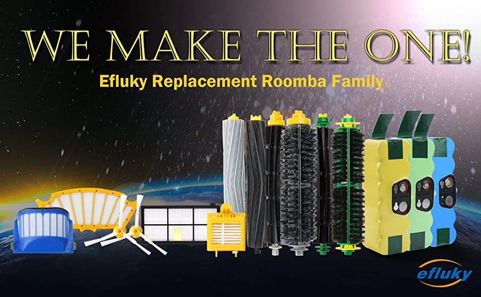 roomba replacement battery and accessories