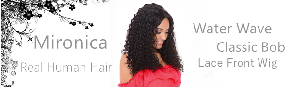 16 water wave wig