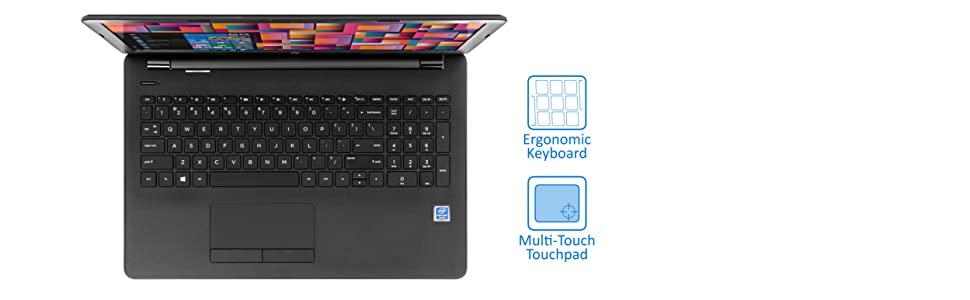 HP 4ND16UA Laptop keyboard and touchpad