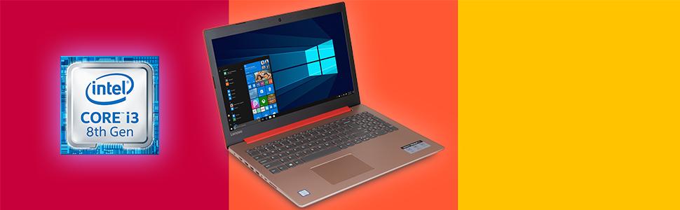 "Lenovo IdeaPad 330 15.6"" HD Notebook i3-8130U (RED) CPU information. Processor Intel Core 8th Gen"