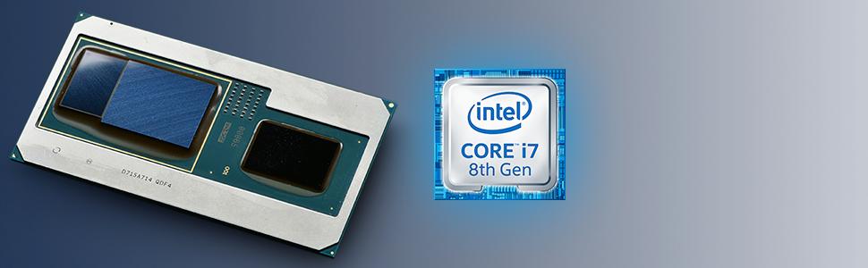 Intel NUC NUC8I7HVK VR Windows 10 Pro CPU information. Processor specs 4.20 GHz 4 core 8 thread CORE