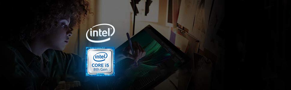 Intel NUC NUC8i5BEH Mini PC/HTPC i5 8th Gen CPU highlight and Processor info.