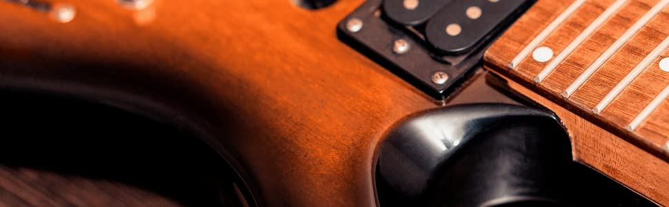 2Pcs Pickup Mounting Rings for Humbucker – Metal Bridge and Neck Pickups Cover Frame