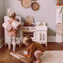 play kitchen wood, milton and goose