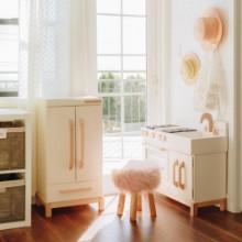 Milton and Goose Refrigerator Wood Kids Play Kitchen Set Photo Credit Chriselle Lim