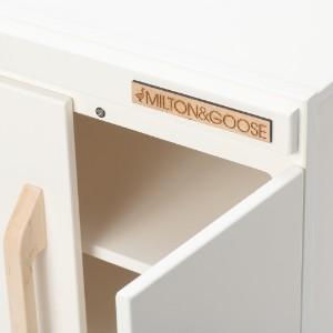Milton and Goose Refrigerator Amazon Wood Toy Play Kitchen Set