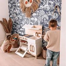 play kitchen, Milton and goose