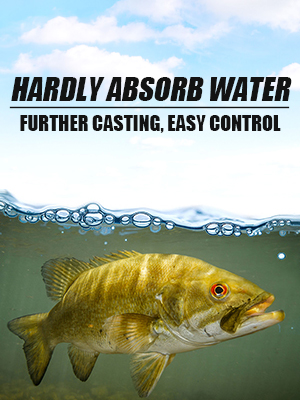 Hardly Absorb Water Braided Fishing Line