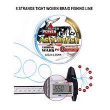 8 strands fishing line