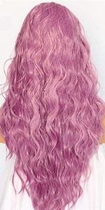 pinjk wig