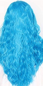 Light Blue Wig