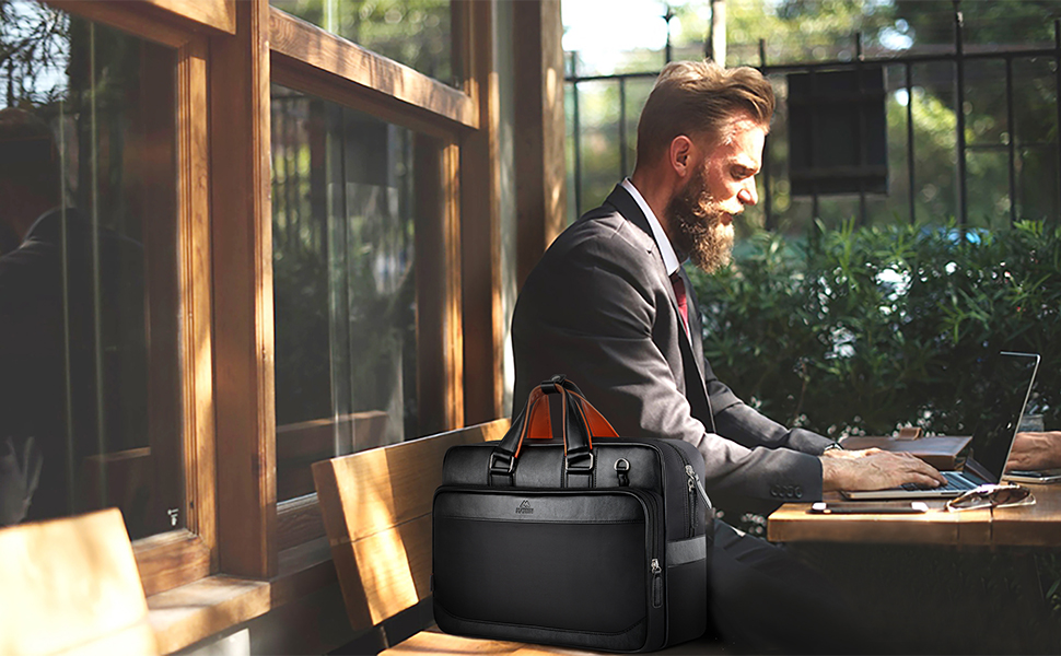 Computer carrying bags for men extra large roomy travel rolling luggage