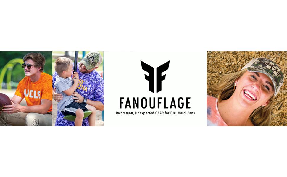Fanouflage Mississippi State, Tennessee Volunteers, East Carolina, ECU Pirates