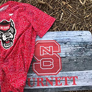 NC State Game Day Shirt, NC State welcome mat, wolfpack gear, Fanouflage