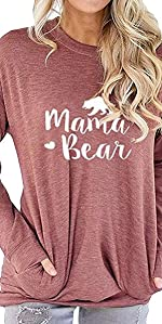 mama bear blouse